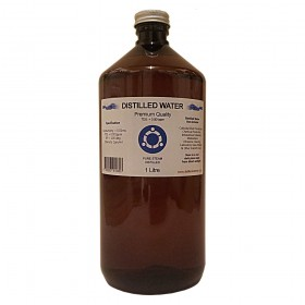 Distilled Water - 1 Litre (1L) - 0ppm