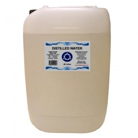 Distilled Water - 20 Litre (20L) - 0ppm