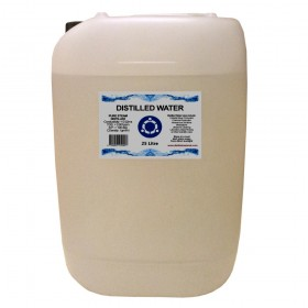Distilled Water - 25 Litre (25L) - 0ppm