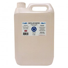 Distilled Water - 5 Litre (5L) - 0ppm