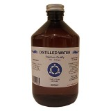 Distilled Water - 500ml - 0ppm